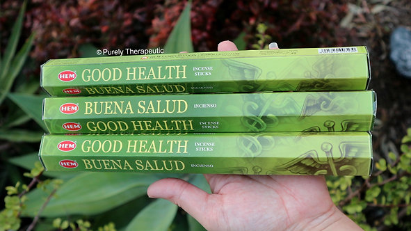 Good Health Incense Sticks Hem Brand