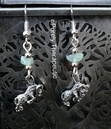 Aries Zodiac Star Sign Earrings