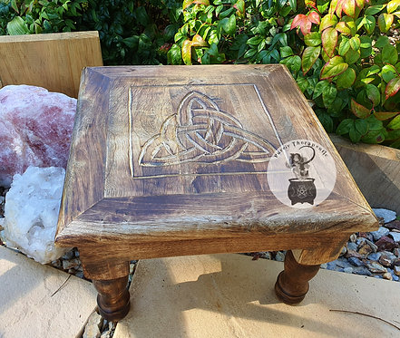 Celtic Triquetra Altar Table