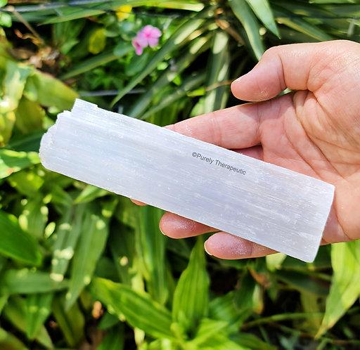 Selenite Gemstone Crystal Charging Plate