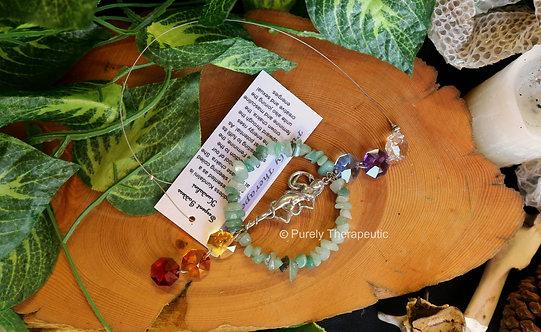 Serpent Goddess Kundalini Sun catcher
