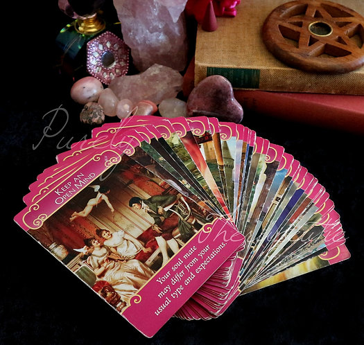 Romance tarot oracle card reading