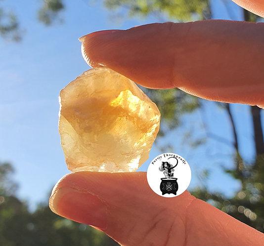 Honey Yellow Gold Calcite Gemstone