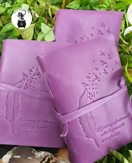 Purple Inspirational Journal