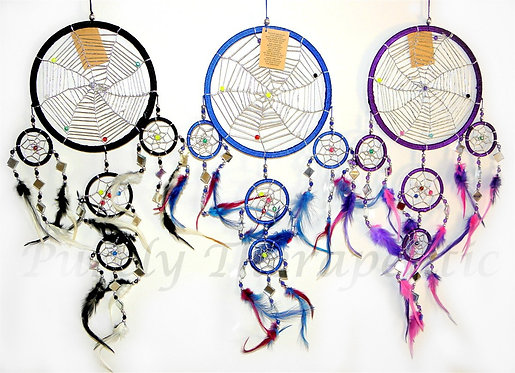 Beaded & Mirror Dream Catcher