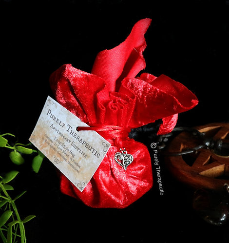 Red Love Mojo Bag Handmade