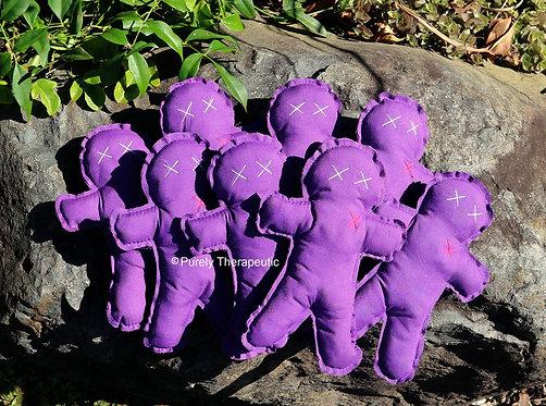 Purple Poppet Voodoo Doll