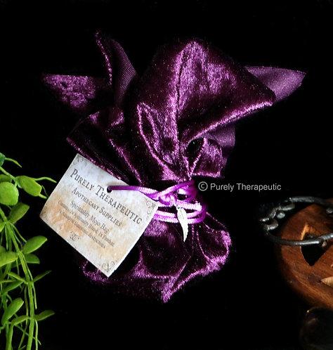 Purple Mojo Bag Pouch Spirituality