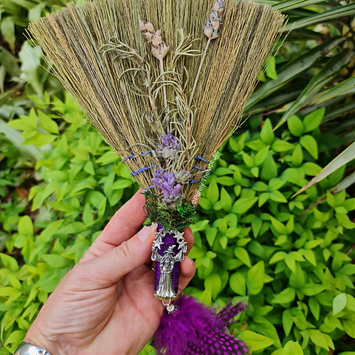 Wizard Protection Besom Broom