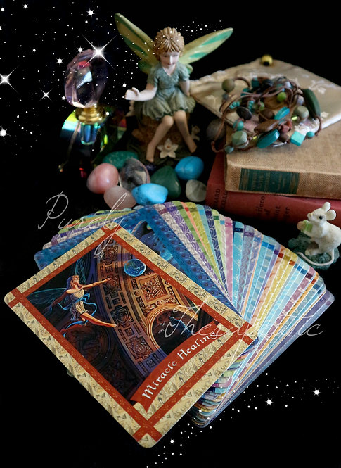 Healing with the Fairies Tarot Oracle Card Reading