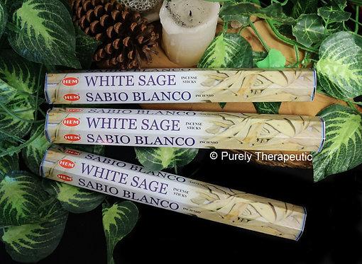 White Sage Incense Sticks Hem