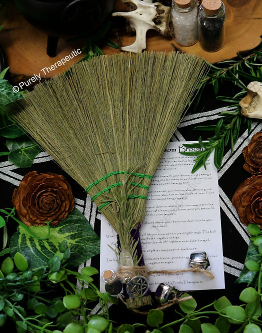 Purely Therapeutic Protection Spell Besom Broom