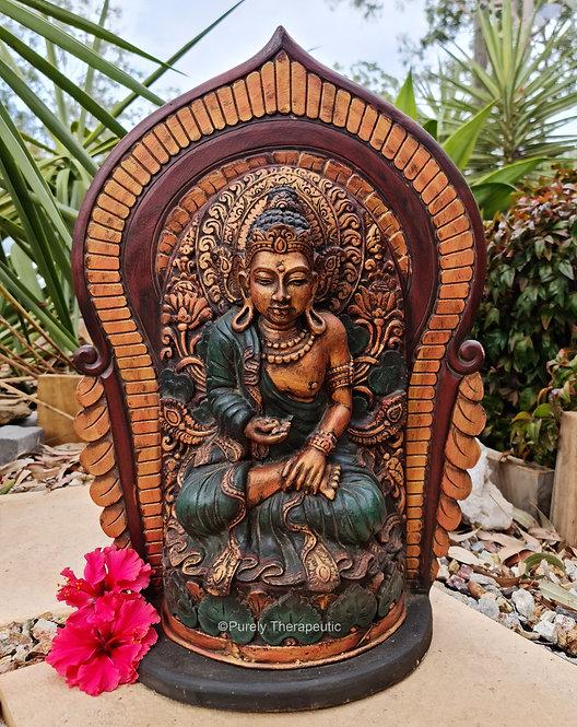 Buddha Gold Figurine Statue God