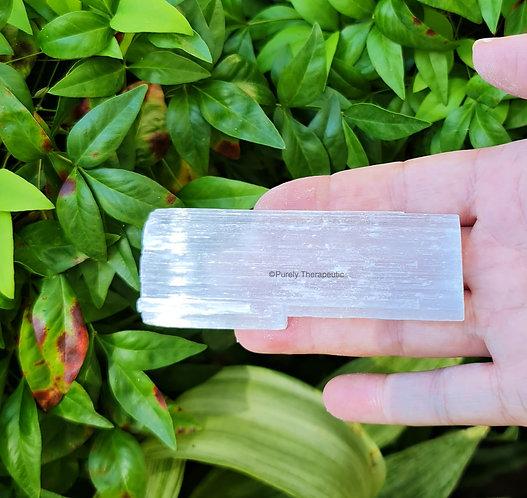 Gemstone Selenite Charging Raw Crystal Plate