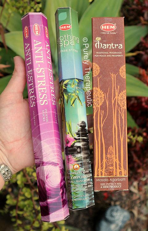 Hem incense sticks Mantra Soothing Spa Anti-Stress