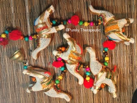Elephant Mobile Colorful beads