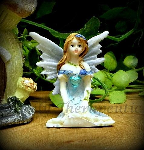 Fairy with Love Heart Figurine