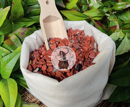 Red Jasper Crystal Gemstone Chips