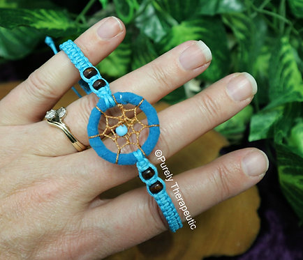 Dream Catcher Bracelet Blue
