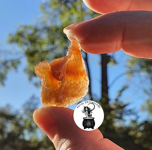 Honey Calcite Natural Raw Gemstone