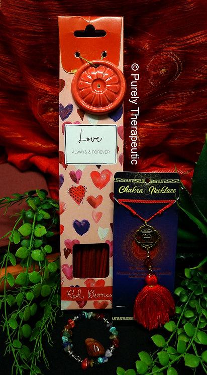 Root Base Red Chakra Mini Incense Pack
