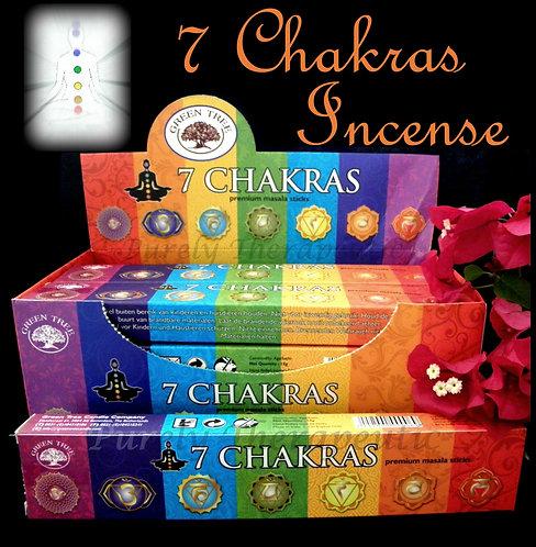 7 Chakras Premium Masala Incense