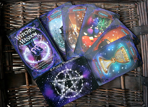 Witches' Wisdom Oracle Cards Deck Tarot