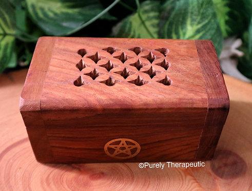 Pentagram Incense Burner