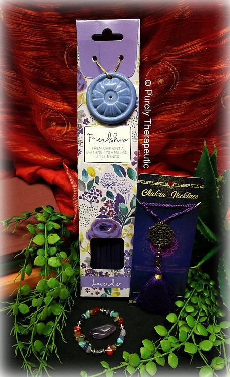 Crown Chakra Incense Pack Necklace