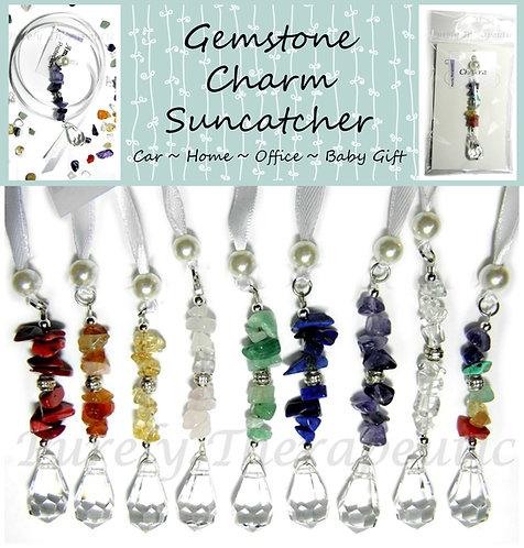 Gemstone Charm Sun Catcher Suncatcher