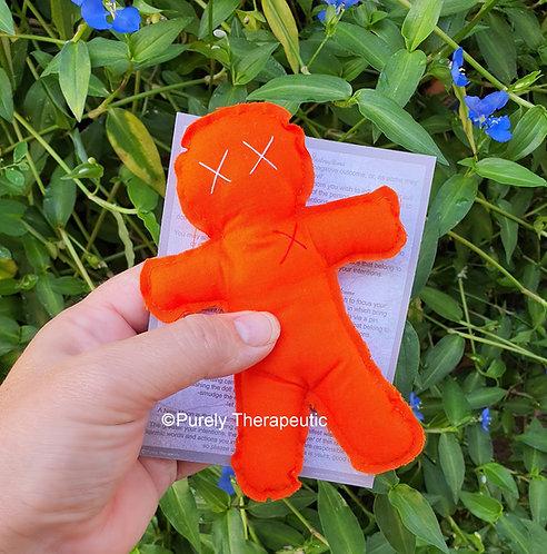Orange_Voodoo_doll_Poppet_Altar_Tool
