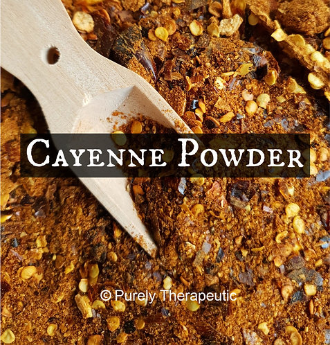 Cayenne Chili Chilli Powder for wicca spells