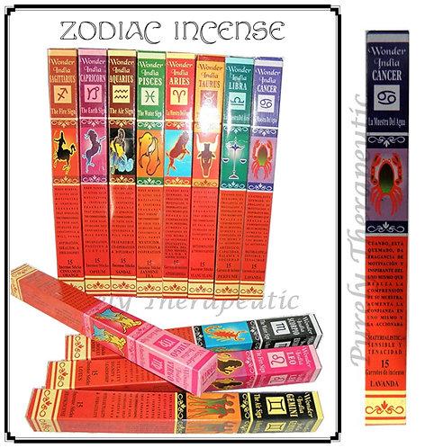 Wonder India Zodiac Incense Sticks~CANCER