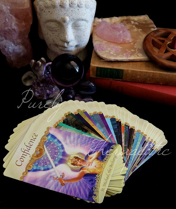 Saints & Angels Doreen Virtue Tarot Oracle Card Reading