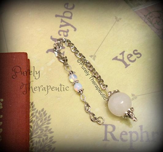 White Jade Pendulum