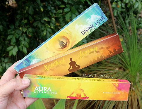 New Moon brand Divine Soul Spiritual Journey Aura Cleansing incense sticks