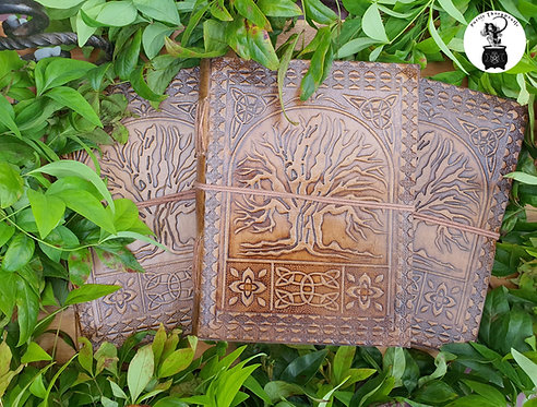 Tree of Life Leather Journals