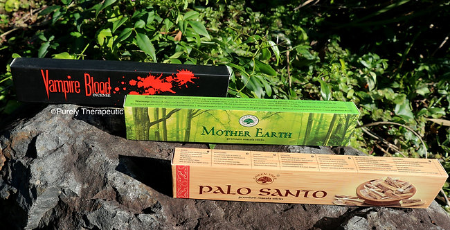 Mumma Z's Top 3 Favourite Incenses