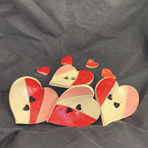 Ceramic Heart Soap Dish