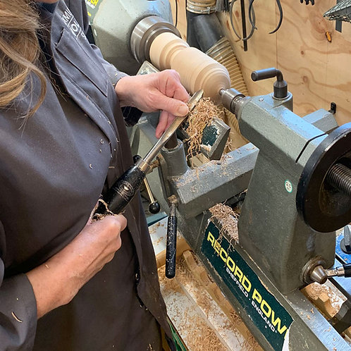 Pairs Experience 1-day Woodturning Tuition