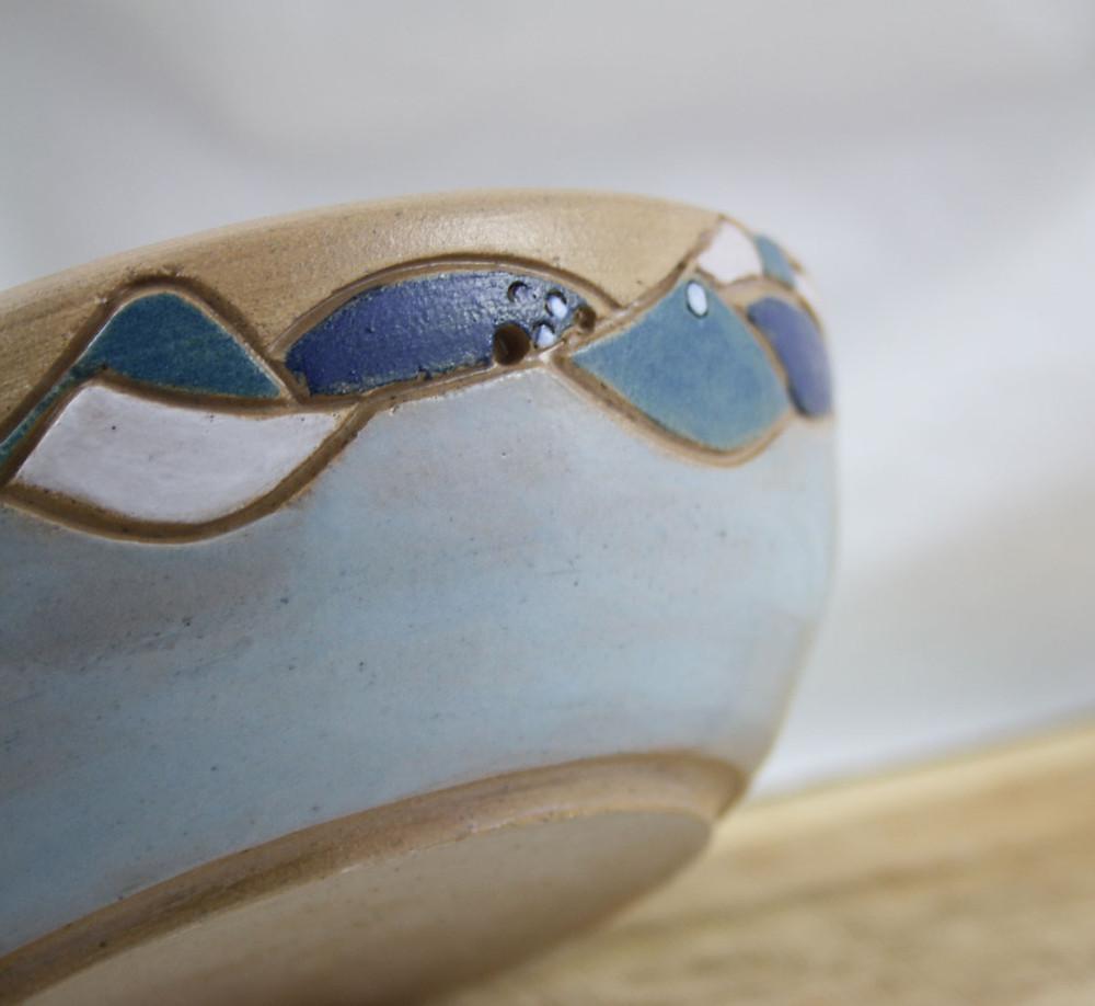 Seascape bowl by Blended Monkey
