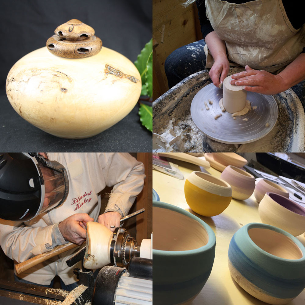 Simon's woodturning and Louise's woodturning workshops are becoming very popular