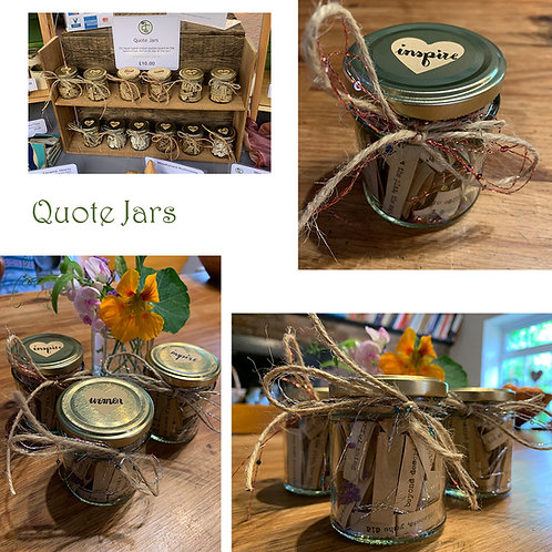 Themed Quote Jars