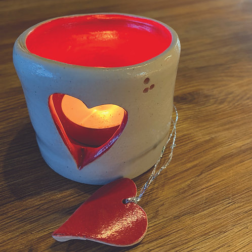 Red Heart Votive