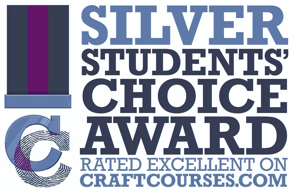 Silver choice certificate awarded by craftcourses.com
