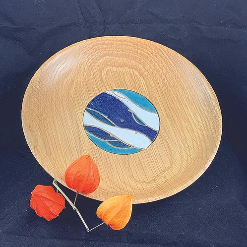 Seascape Oak Platter