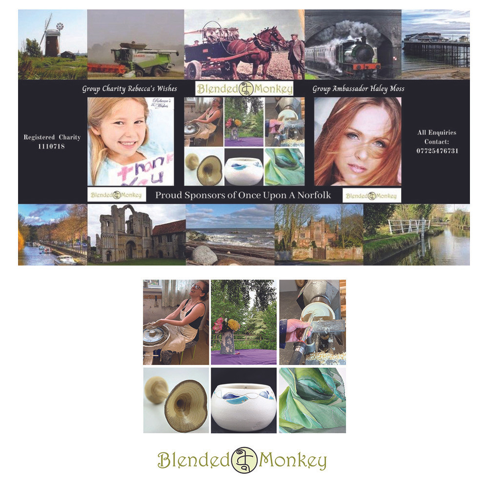 Blended Monkey sponsors the Facebook group Once Upon A Norfolk