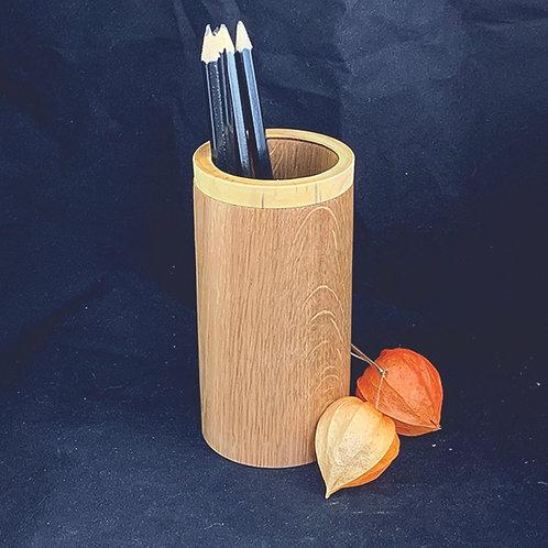 Oak Pencil Pot