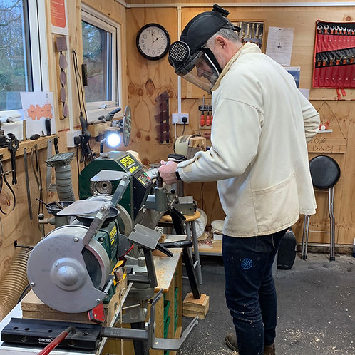 2-person half-day Woodturning Tuition