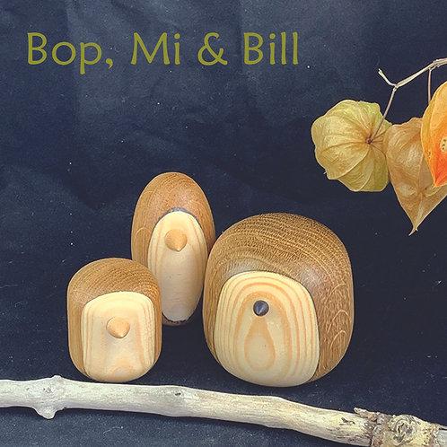 Penguin Family - Bop, Mi & Bill